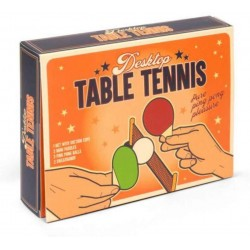 Novelty DESTEN Desk Table Tennis Game, Multi-Colour-DESTEN