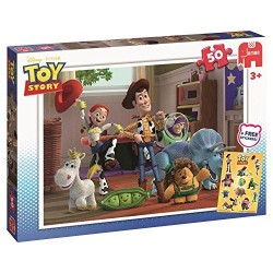 Toy Story-50pcs Puzzle + Free Stickers-17159