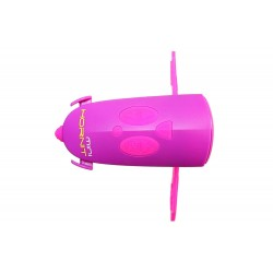Hornit MINI HORNIT PUPI Fun Horn and light gift for kids bike & scooters, Pink and Purple