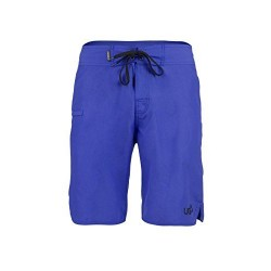 Urban Beach Men's Jaws Board Shorts - Blue, Medium