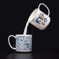 Tokidoki TOKISTMUG Coffee and Tea Mug, Ceramic Multicolor-TOKISTMUG