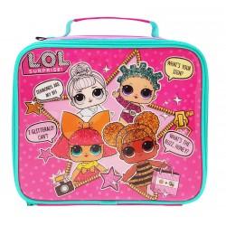 LOL Suprise 1 x Kids Lunch Bag, 600D Polyester, Pink, 8 x 23 x 19.5 cm-1061347